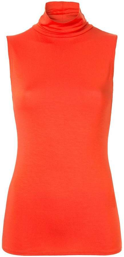 Layeur sleeveless mock neck tank