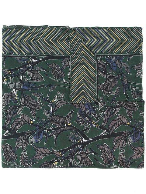 Yoshiokubo dry leaf scarf