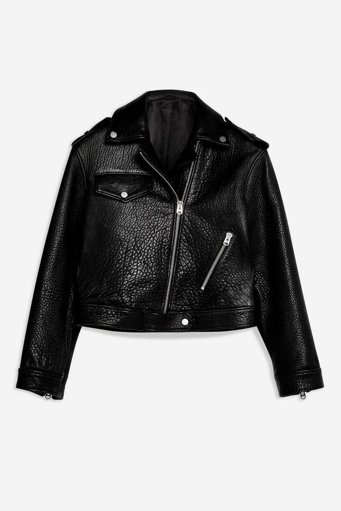 **Ultimate Leather Biker Jacket by Topshop Boutique | Topshop