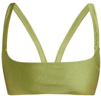 Revel Bandeau Bikini Top - Womens - Green