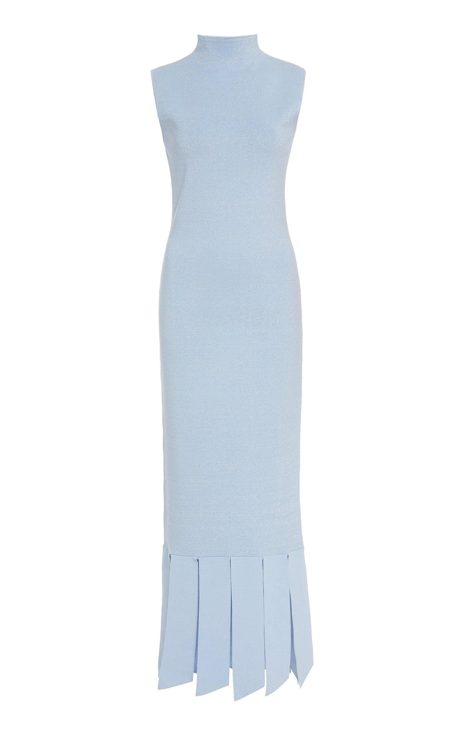 Staud Pat Midi Dress