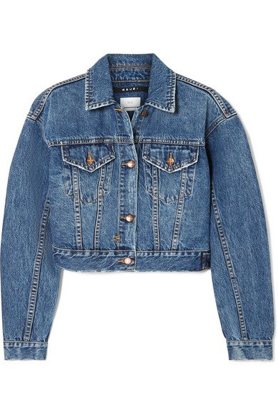 Ksubi   Jett cropped denim jacket   NET-A-PORTER.COM