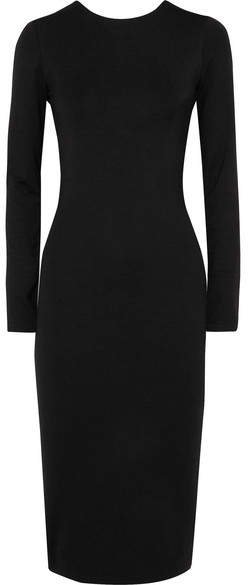 Ninety Percent - Stretch-tencel Dress - Black