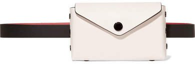 Atlas Leather Belt Bag - White