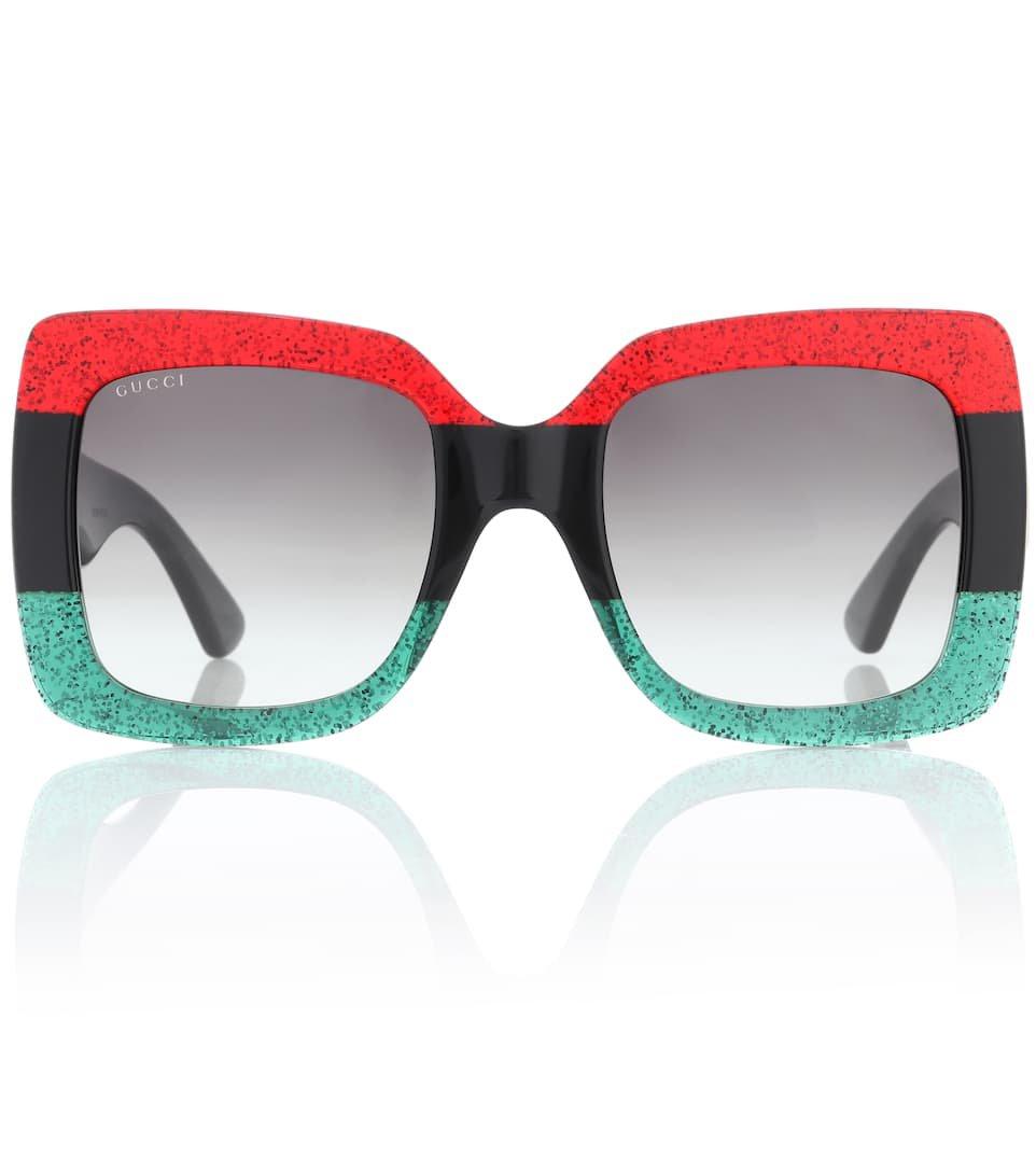Oversized Square Sunglasses | Gucci - mytheresa