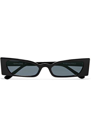 Roberi & Fraud | Geraldine square-frame acetate sunglasses | NET-A-PORTER.COM