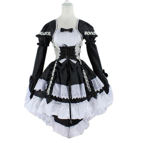Black Butler Cosplay Costumes - Maid Lolita Dress – AnimeBling