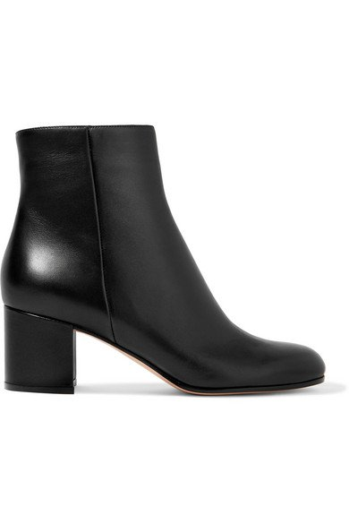 Gianvito Rossi | Margaux 60 leather ankle boots | NET-A-PORTER.COM