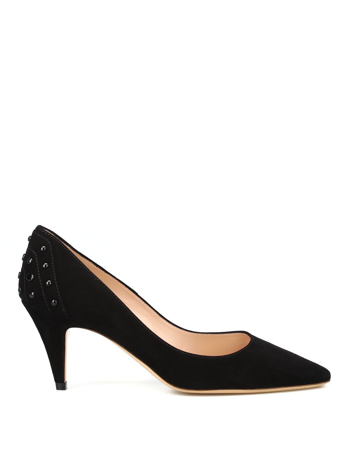 Tod's Suede Pumps With Rear Gommini