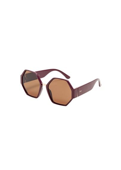 MANGO Geometric sunglasses