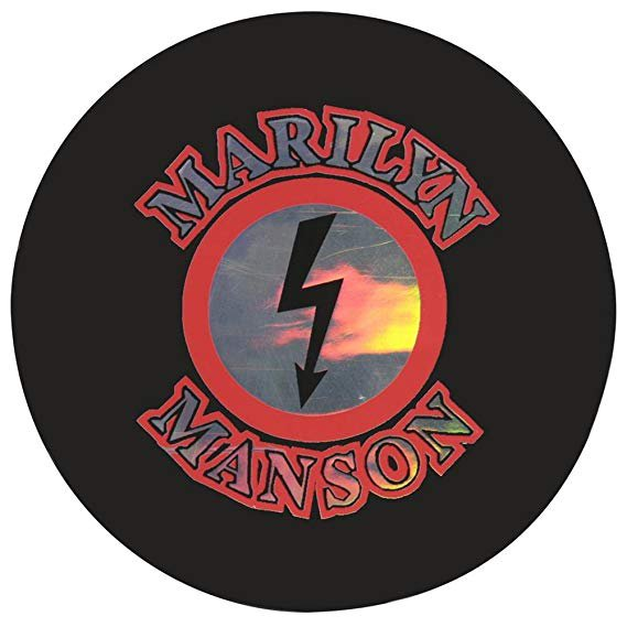 Amazon.com: Marilyn Manson - Reflective Logo Decal: Automotive