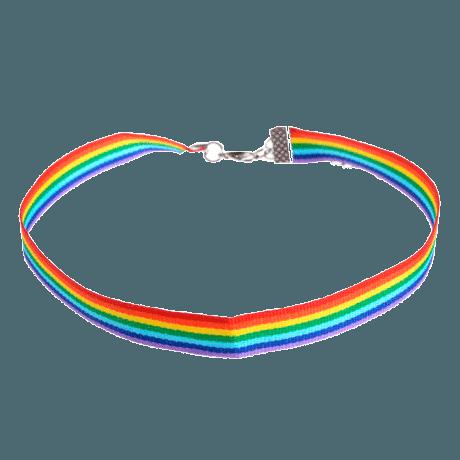 itGirl Shop | RAINBOW THICK CHOKER