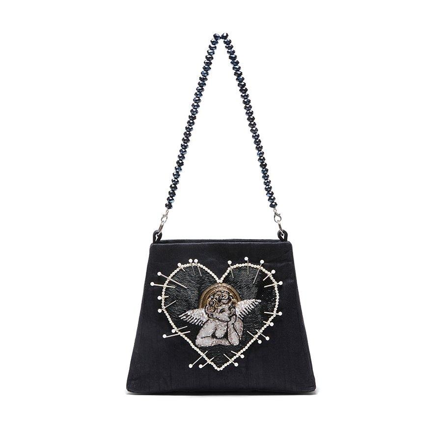 Cherub Bag in Black - Clio Peppiatt
