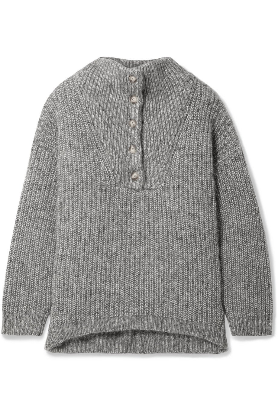 HATCH | The Jo ribbed cotton and alpaca-blend sweater | NET-A-PORTER.COM