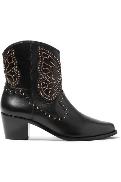 Sophia Webster | Shelby studded leather ankle boots | NET-A-PORTER.COM
