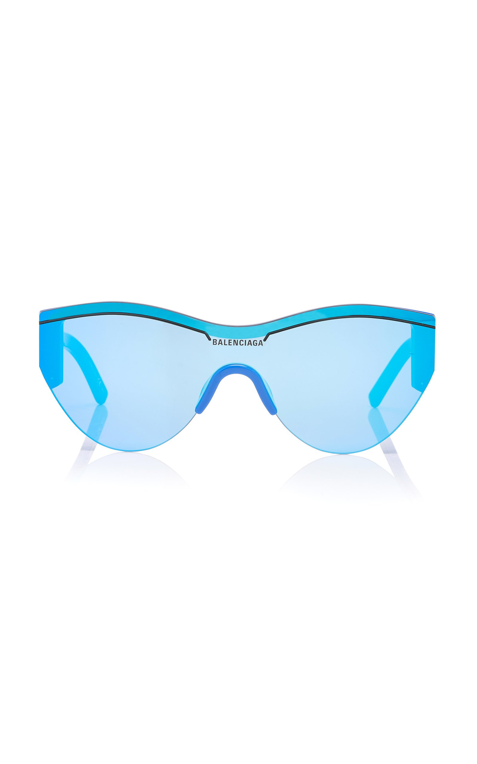 Balenciaga Cat-Eye Acetate And Nylon Sunglasses