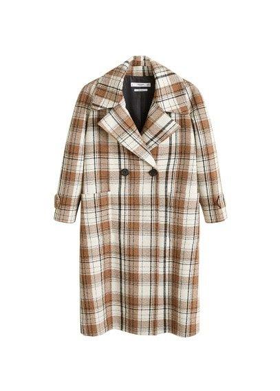 MANGO Check coat