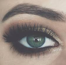 prom makeup green eyes - Google Search
