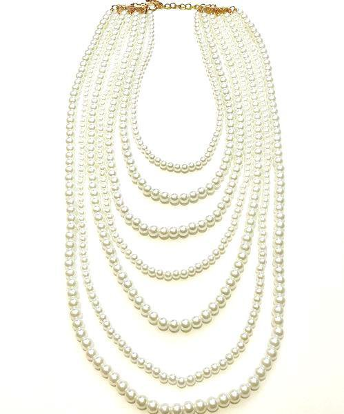 Long Pearl Necklace – Styleverde