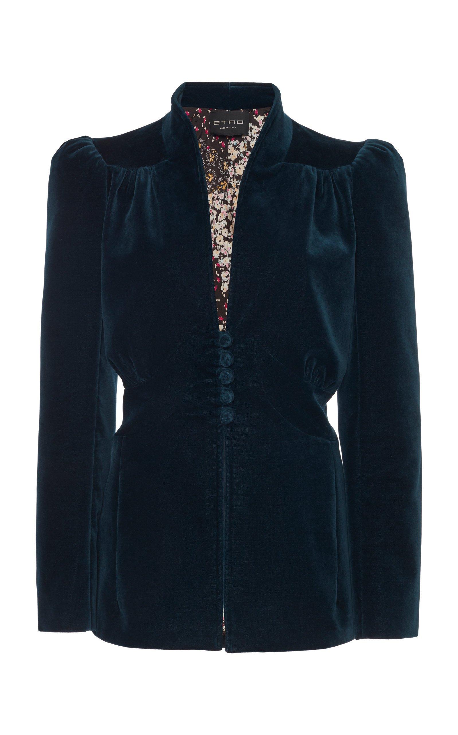 Etro Velvet Jacket Size: 38