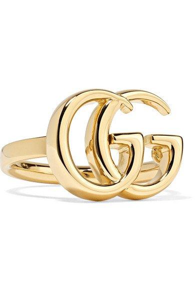 Gucci | 18-karat gold ring | NET-A-PORTER.COM