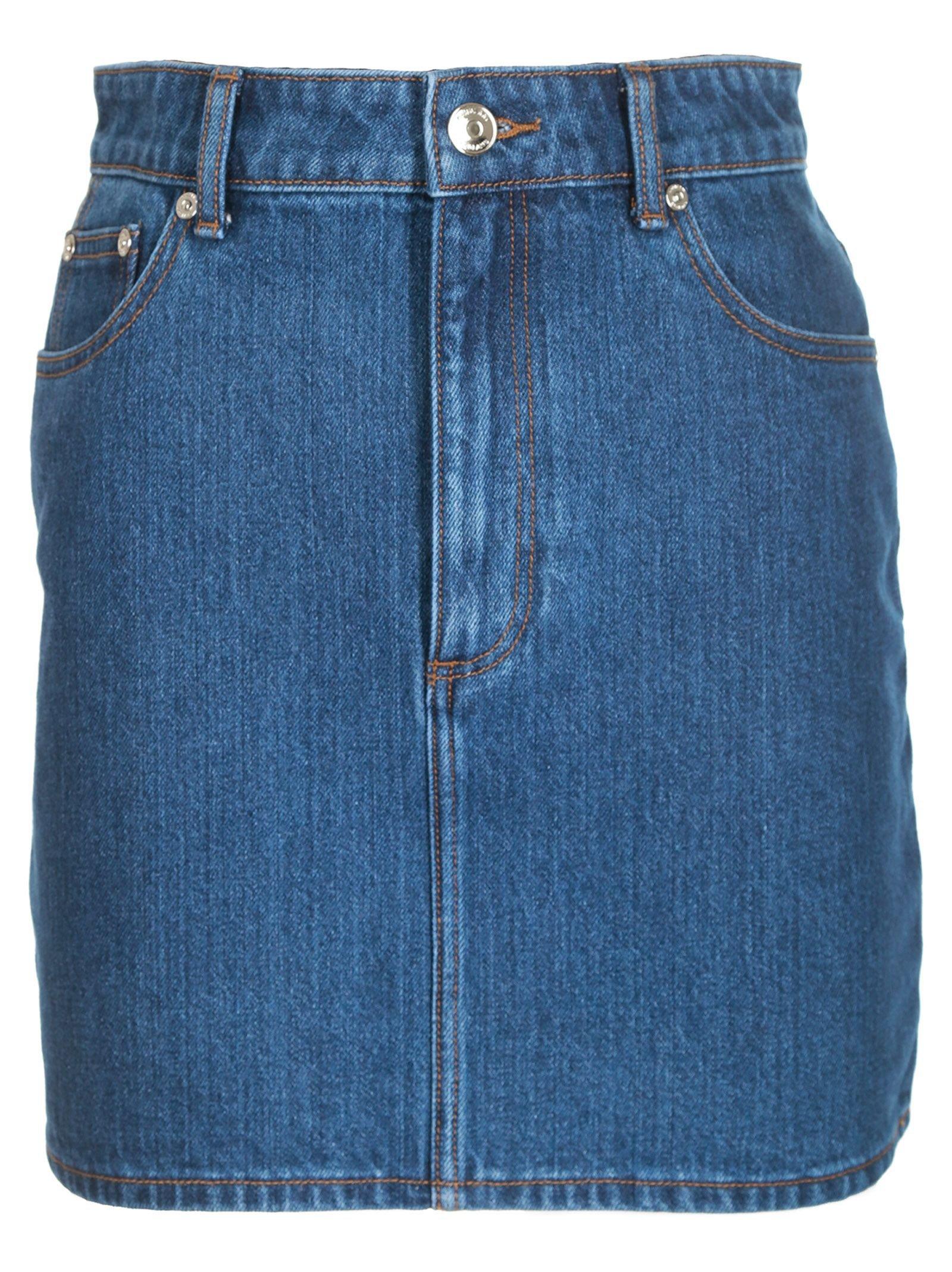 Burberry Denim Skirt