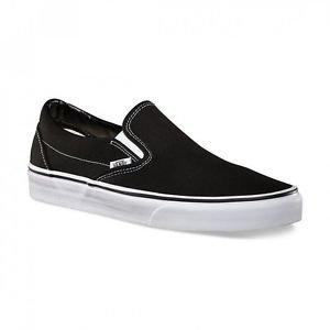 Black Classic Slip-on Vans