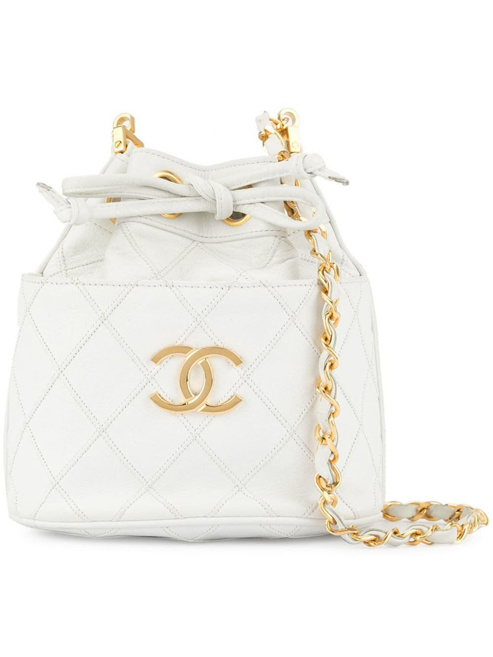 Chanel Vintage Cosmos Line drawstring chain shoulder bag $5,438 - Buy Online - Mobile Friendly, Fast Delivery, Price