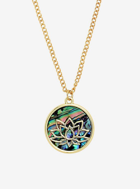 Disney Aladdin Jasmine Lotus Necklace