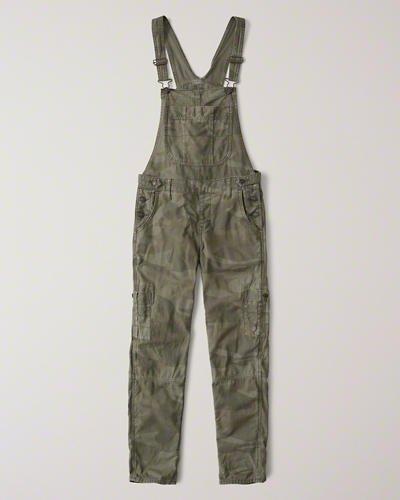 Womens Camo Twill Overalls | Womens Bottoms | Abercrombie.com