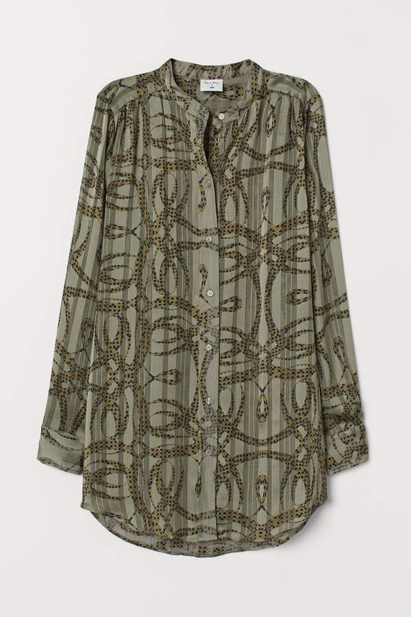 Airy Blouse - Green