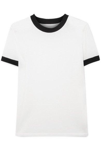 RtA | Quinton Tencel-blend T-shirt | NET-A-PORTER.COM