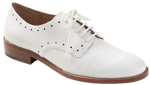 Perforated Oxford