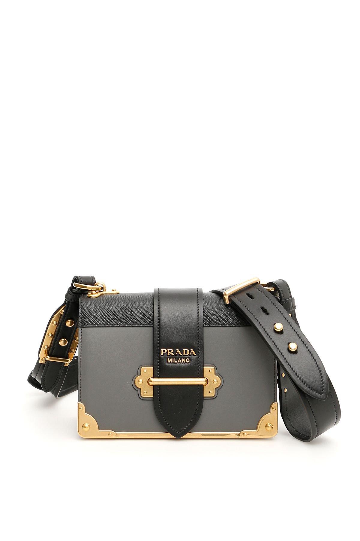 Prada Bicolor Cahier Bag