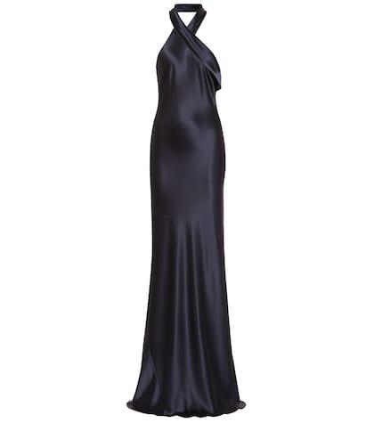 Pandora silk gown