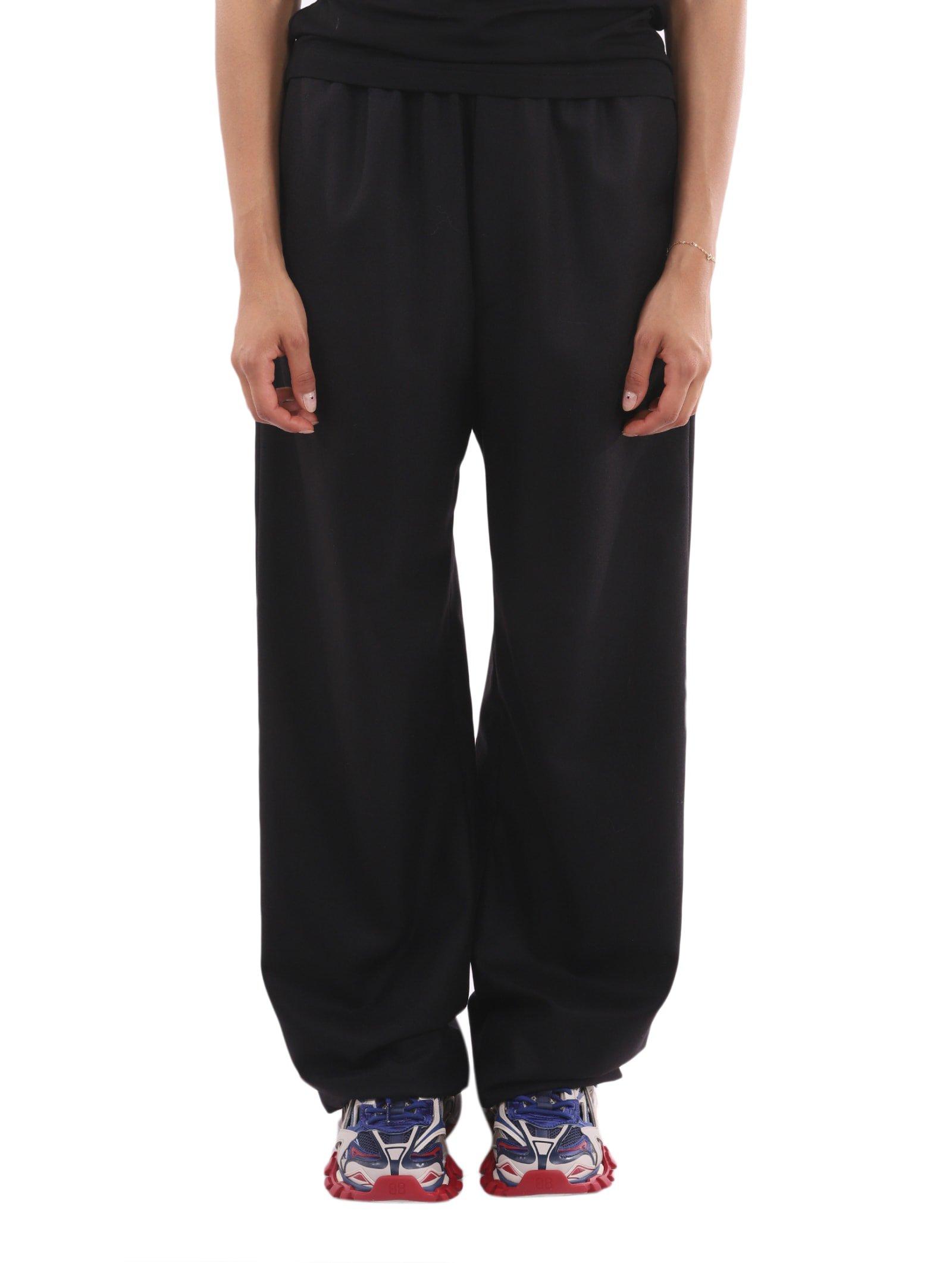 Balenciaga Black Cashmere Trousers