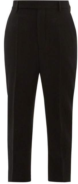 Easy Astaires Wool Trousers - Womens - Black