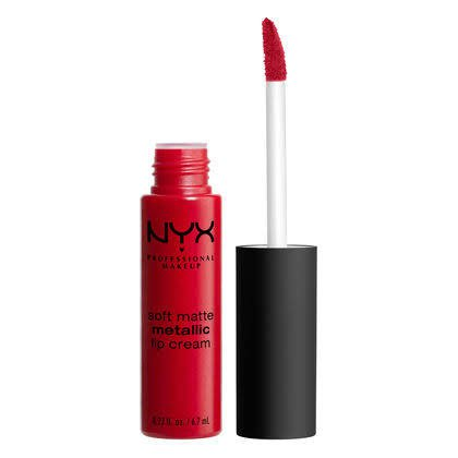 NYX Soft Metallic Lip Creme