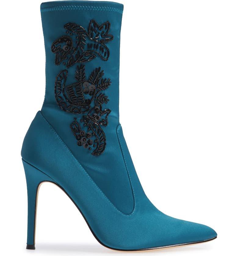 Nina Dorella Pointy Toe Bootie (Women) | Nordstrom