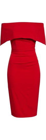 Vince Camuto Popover Midi Dress (Regular & Petite) | Nordstrom