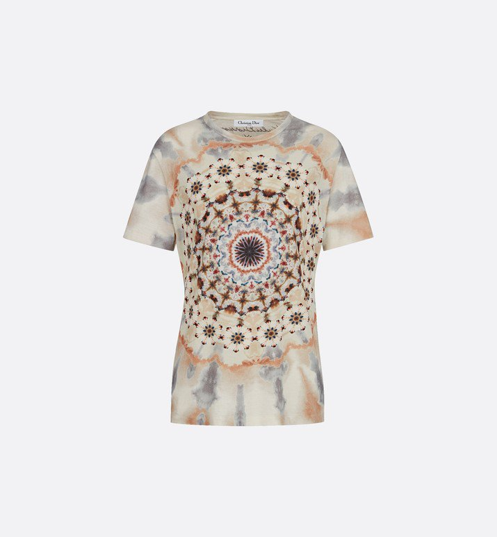 T-shirt en coton et lin - Prêt-à-porter - Mode Femme | DIOR