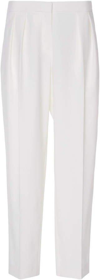 Canvas Wide-Leg Pants