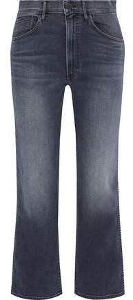 Joni Faded High-rise Wide-leg Jeans