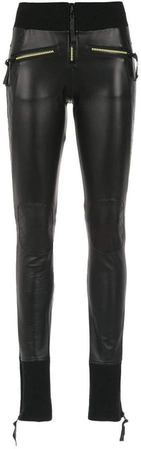 Andrea Bogosian leather leggings