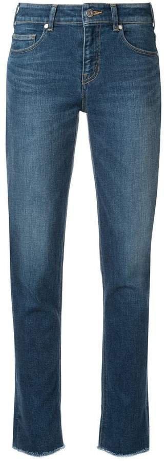 Loveless frayed hem jeans