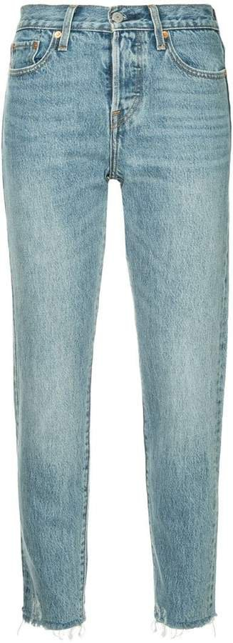 Wedge jeans