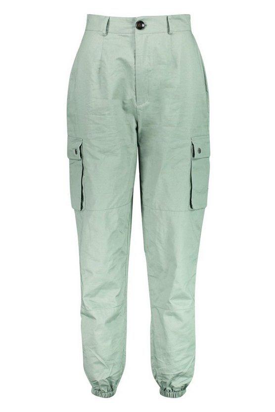 Woven Pocket Cargo Pants | Boohoo