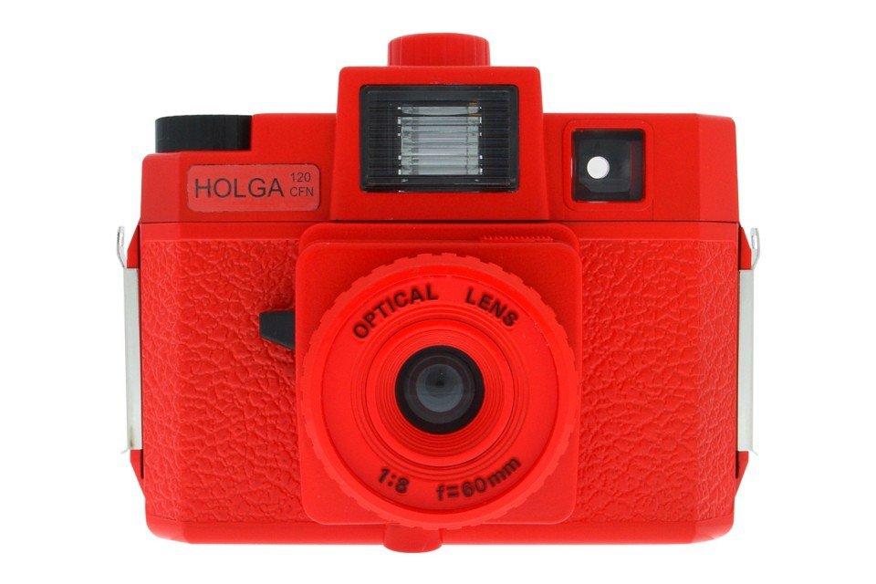 red holga camera