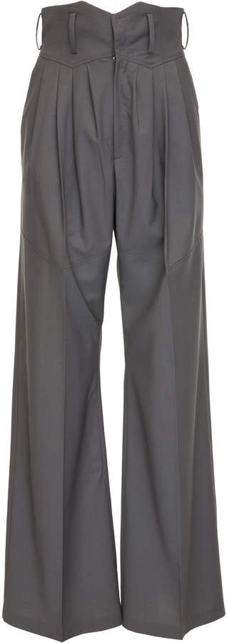 SITUATIONIST High-Rise Wide-Leg Pant