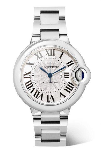Cartier   Ballon Bleu de Cartier 33mm stainless steel watch   NET-A-PORTER.COM